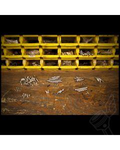 Polished Stainless Steel Allen Head Bolt Kit - (Fits: Virago XV1000 & XV1100)