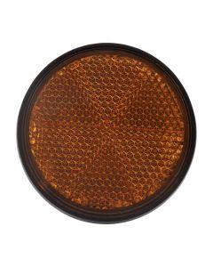 Fr Fork Reflector ORANGE BLACK- RIM
