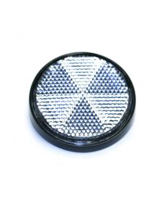 Rr Shock Reflector CLEAR BLACK- RIM