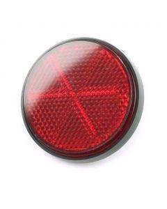 Rr Shock Reflector RED BLACK- RIM
