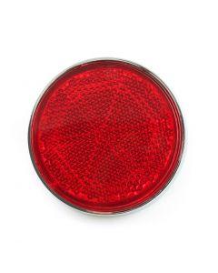 Rr Shock Reflector RED CHROME- RIM