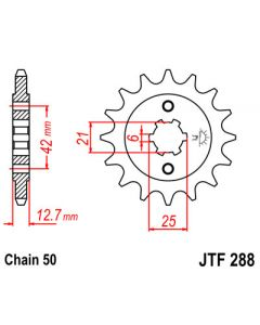 530 (JTF288 series) 18T Fr Sprocket