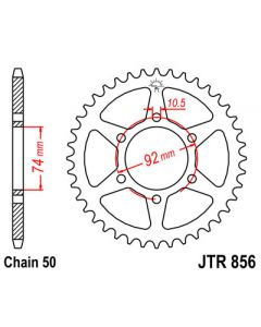 530 (JTR856 series) 46T Rr Sprocket