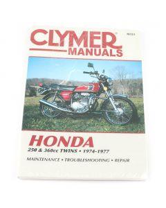 Honda Clymer Manual - CB250 - CJ250 - CB360 - CL360 - CH360 - 1974-1977