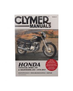 Manual CB250 CM200 CM350 CMX250 1978-2003