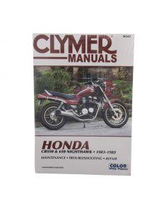 Manual CB550SC CB650SC 1983-85