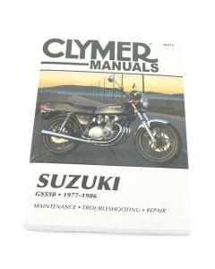 Manual GS550 Fours 1977-1986