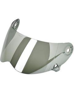 Biltwell Lane Splitter Anti-Fog Helmet Shield - CHROME MIRROR