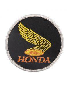 Retro Gold Honda Wing Patch