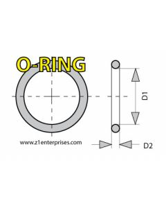 O-Ring Viton 22mm ID-24.8mm OD-1.4mm Cross-section