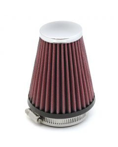 57mm High Performance Air Filter Pod - (Red/Silver)