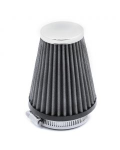 57mm High Performance Air Filter Pod - (Black/Silver)