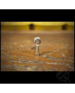 M6 x 1.0 Zinc Plated Steel Spherical Rod End Heim Joint - (Female)