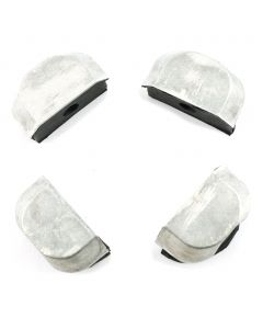 Cam End Plugs - Silver 4-pack KZ1000 KZ1100 ZN1100