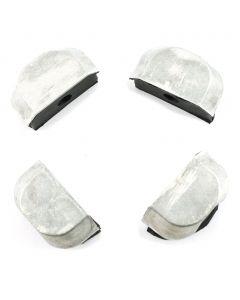 Cam End Plugs - Silver 4-pack KZ1000 KZ1100 ZN1100