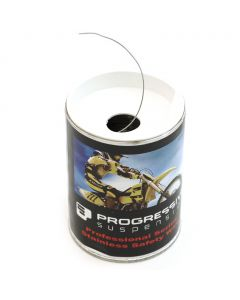 "Progressive Suspension Stainless Steel .025"" Safety Wire Can - 25 feet"