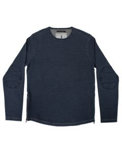 "True Indigo ""Arizona"" Knit Crew Neck by Mercury Mfg Co."
