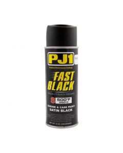Paint Engine Case Paint Satin Black PJ1 11oz