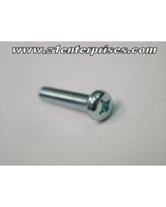 Bolt - Pan Head - Zinc - JIS - 6mm x 22mm