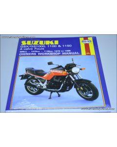 Manual GS/GSX1000- 1100 & 1150 4-valve Fours
