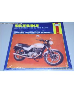 Manual GS/GSX250- 400 & 450 Twins (79 85)