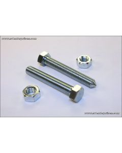 Chain Adjuster Bolt/Nut Set 8mm Z1 H1 KZ650/550