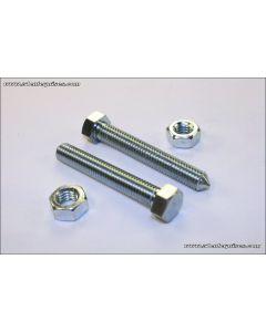 Chain Adjuster Bolt/Nut Set 8mm Z1 H1 KZ650/550