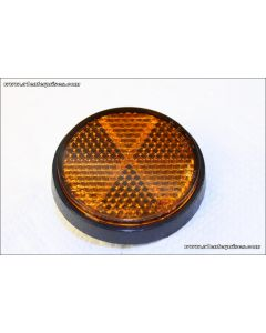 Reflector - orange - frame side