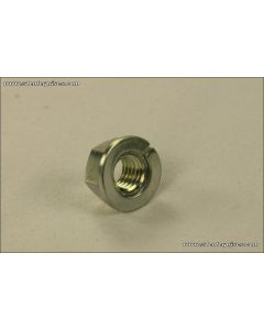 Nut - 6mm - with captive lock washer