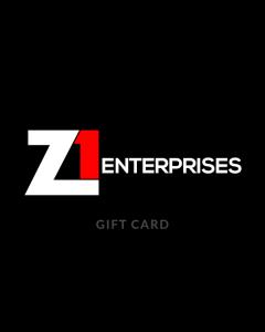Z1 Enterprises Gift Card