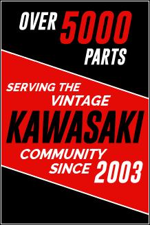 Serving Vintage Kawasaki Community Since 2003