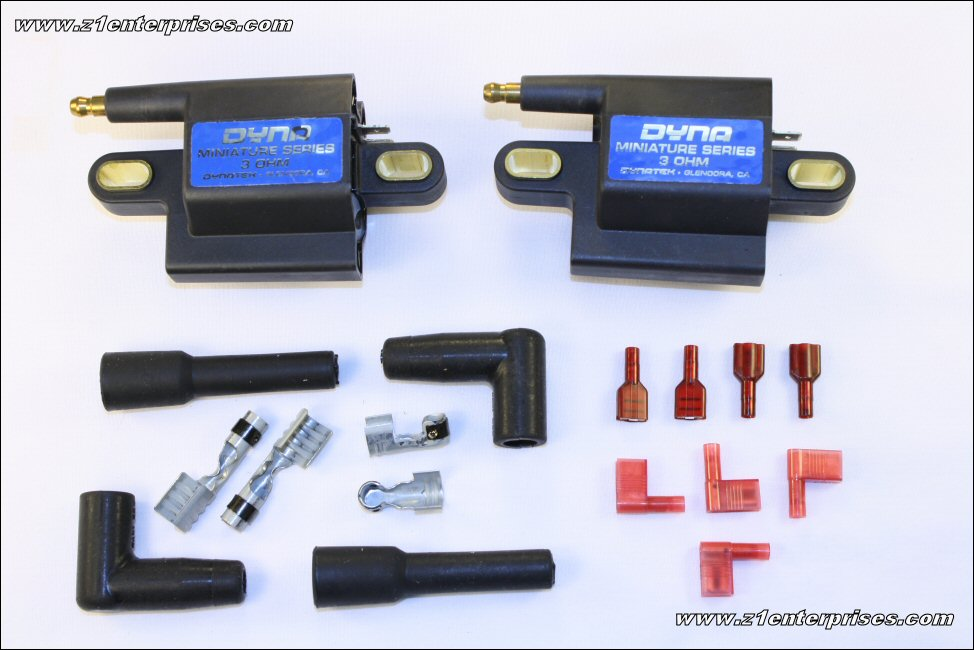 Dyna Single Output 3.0 Ohm Mini Coils (Pair) DC3-2