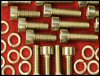 Carb Screw Set - VM24/26/28 w/accel KZ